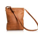 """Genuine Leather """"Gemini Evolution""""Sling Bag- Diesel Toffee"""