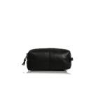 """Genuine Leather """"Chivalry"""" Vanity Bag (Diesel Black)"""